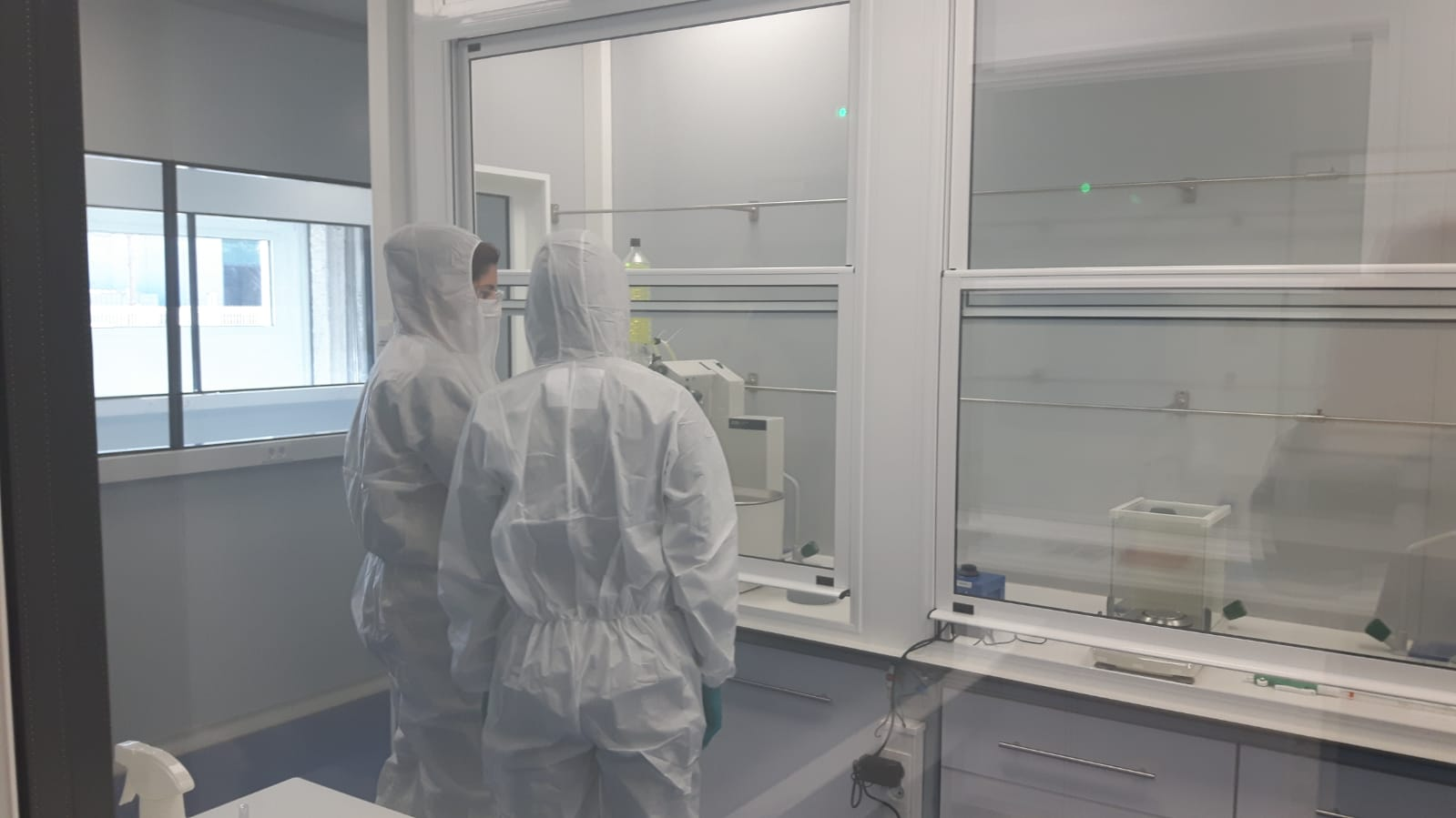 New clean room facility for R&D liposome batch production